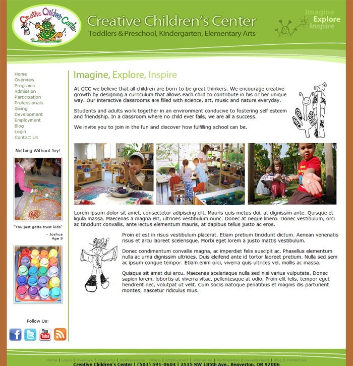 CreativeChildrensCenter.com